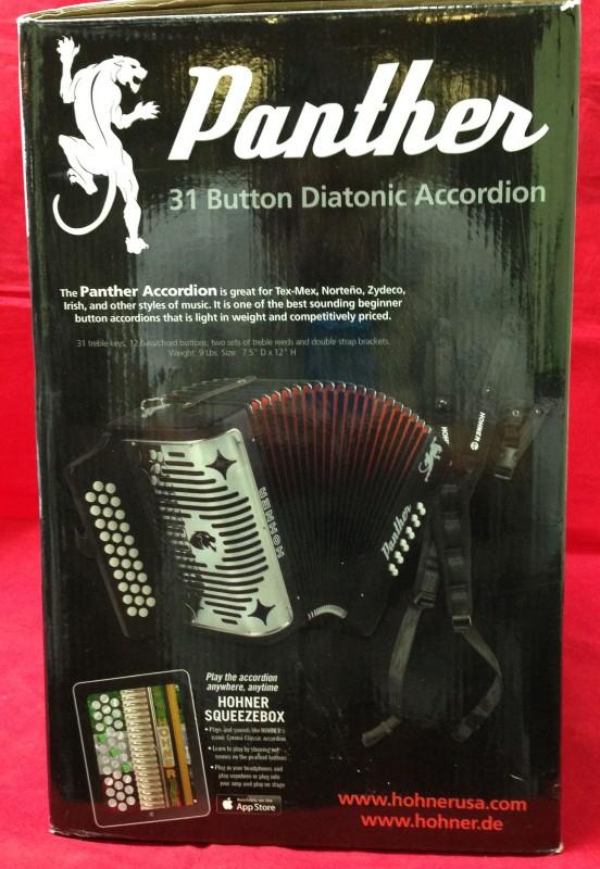 HOHNER Accordion/Concertina PANTHER 3100GB
