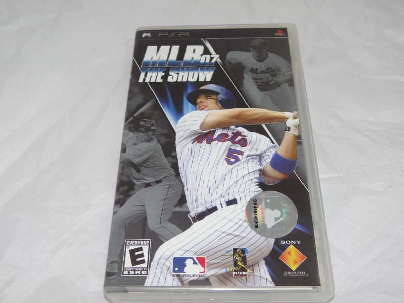 MLB 07: The Show (PlayStation Portable, 2007) Complete