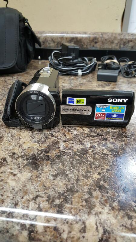 Sony DCR-SX85 Handycam Camcorder - Black 16GB Internal Memory