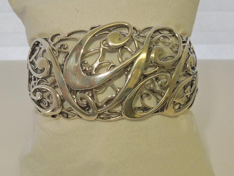 Silver Bracelet 925 Silver 42.4g