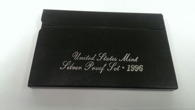 UNITED STATES 1996 MINT SILVER PROOF SET