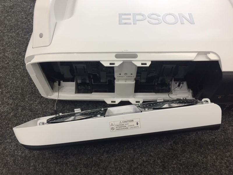 Epson PowerLite Pro Z8000WU LCD Media Projector (Model: H266A) with Set-up CD