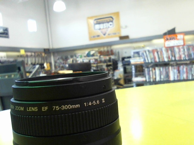 CANON Lens/Filter EF 75-300MM 1:4-5.6 III