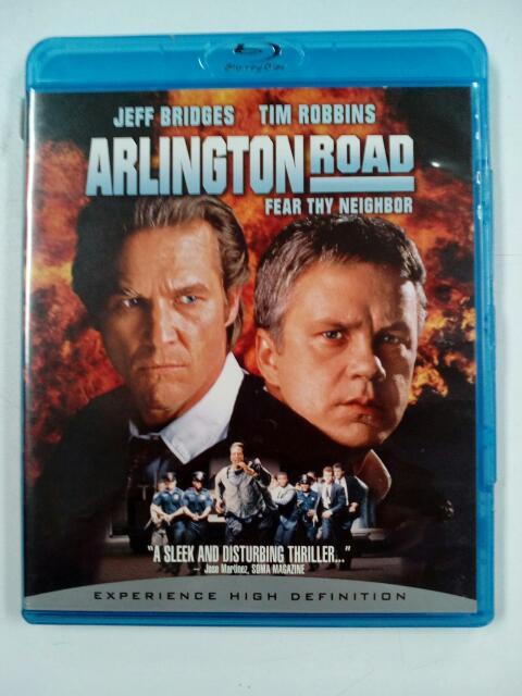 BLU-RAY MOVIE Blu-Ray ARLINGTON ROAD