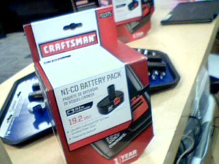 CRAFTSMAN Battery/Charger 911375