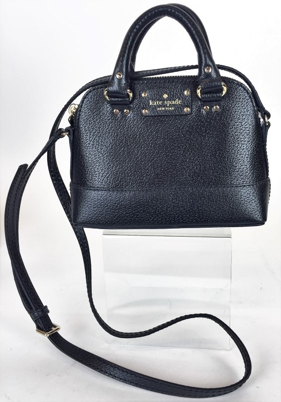KATE SPADE MINI SATCHEL LEATHER SHOULDER BAG