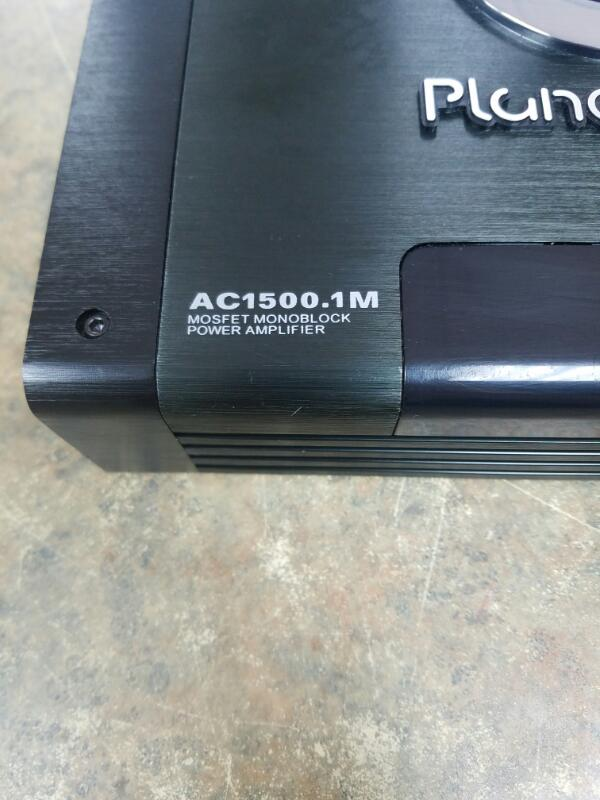 PLANET AUDIO Car Amplifier AC1500.1M