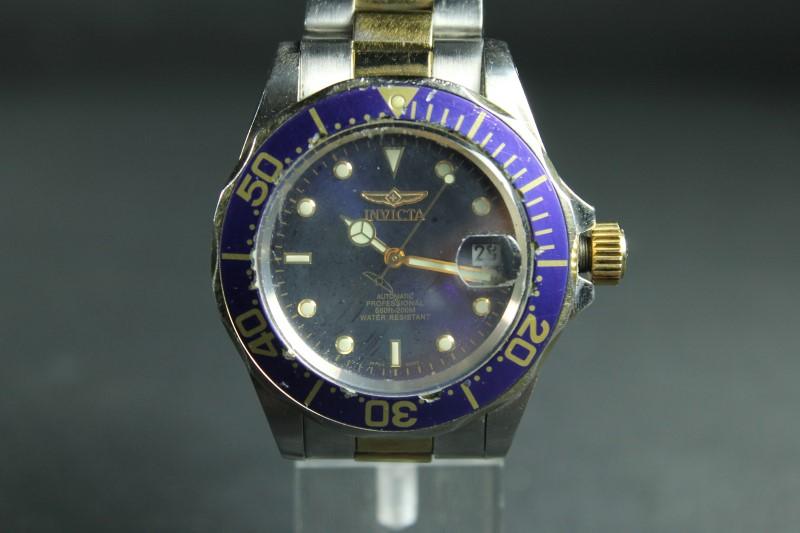 Invicta 8928A Men's Two Tone Automatic Coin Edge Bezel Watch