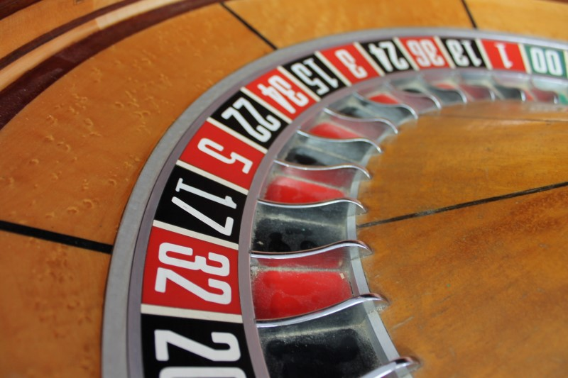 "Casino Collectible 32"" ROULETTE WHEEL"