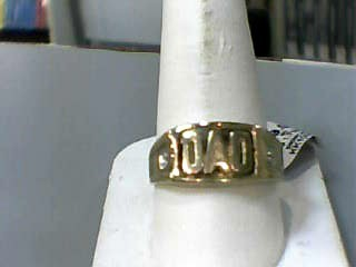 Gent's Gold Ring 10K Yellow Gold 1.7dwt Size:10.7