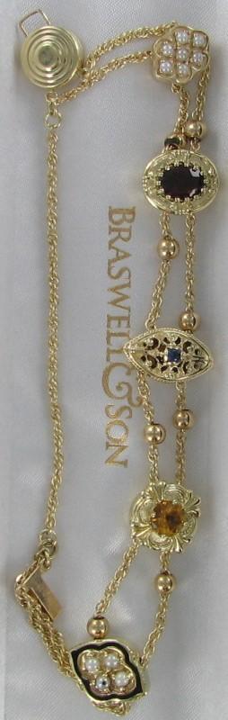 Gold Fashion Bracelet 14K Yellow Gold 12.7dwt