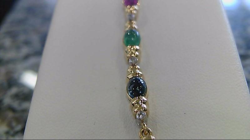 Gold Bracelet 10K Yellow Gold 13.5g