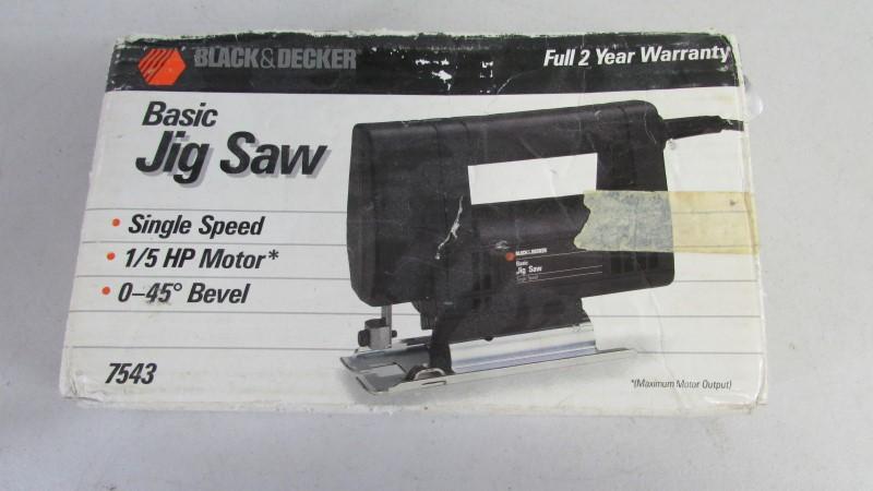 BLACK & DECKER Jig Saw 7543