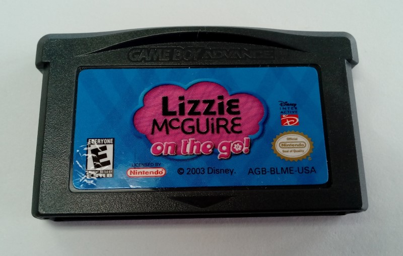 Lizzie McGuire: On the Go (Nintendo Game Boy Advance GBA) Game Only!