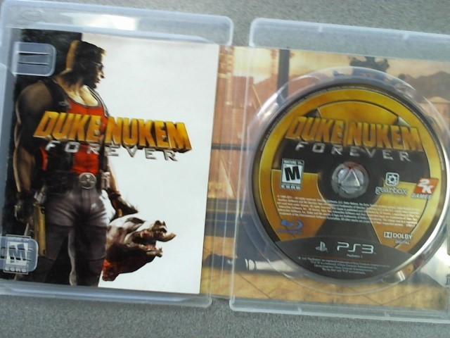 SONY Sony PlayStation 3 Game DUKE NUKEM FOREVER PLAYSTATION 3