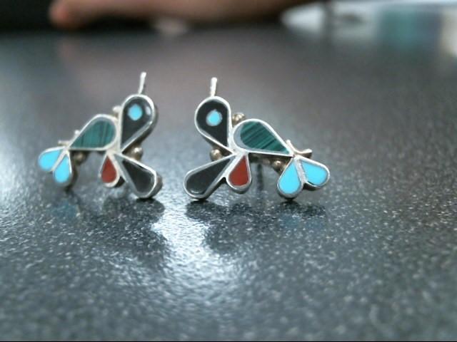 Silver Earrings 925 Silver 1.7g