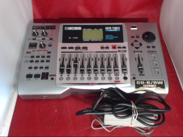 BOSS Multi-Track Recorder BR-1180CD