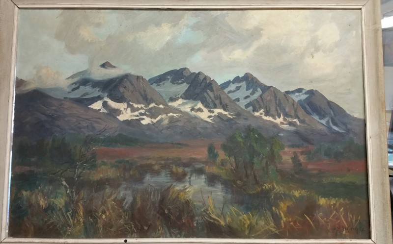 HANK NORDEN Painting PAINTING