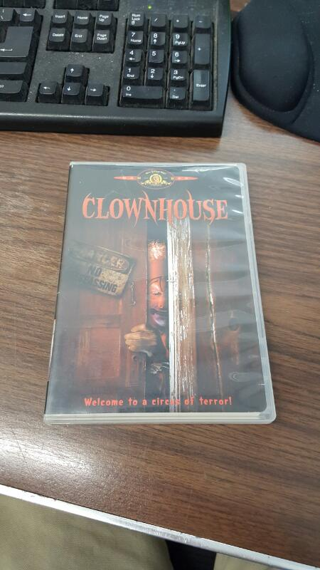Clownhouse (DVD, 2003) Original Release,  Rare,  OOP