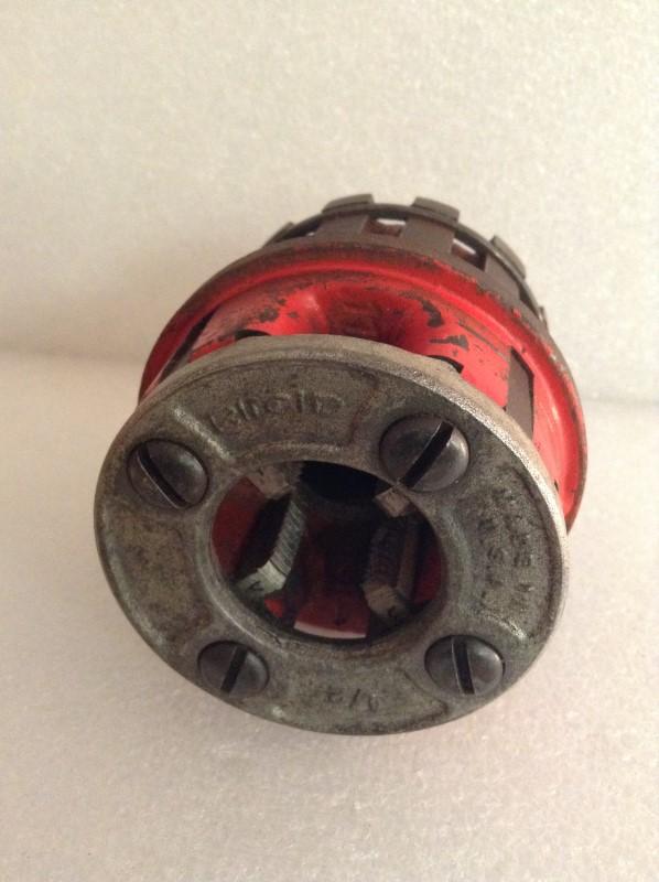 RIDGID TOOLS Level/Plumb Tool PIPE THREADER DIE