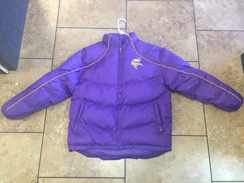 MINNESOTA VIKINGS Coat/Jacket PUFFER JACKET