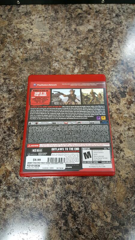 Red Dead Redemption -- Game of the Year Edition (Sony PlayStation 3, 2011) PS3
