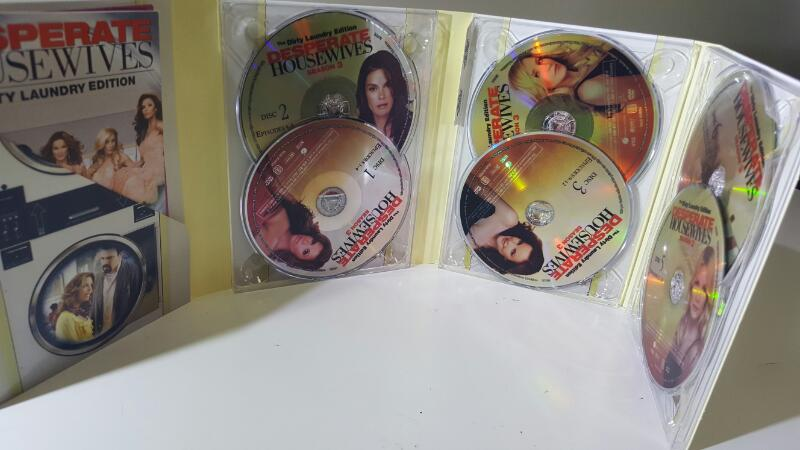 """Desperate Housewives """"The Dirty Laundry Edition"""" Season 3 (DVD BOX SET)"""