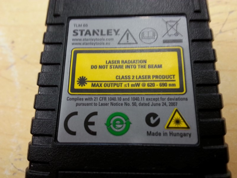 STANLEY Miscellaneous Tool TLM 65
