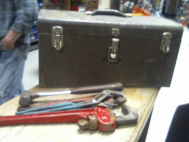 TOOL BOX WITH MSC TOOLS