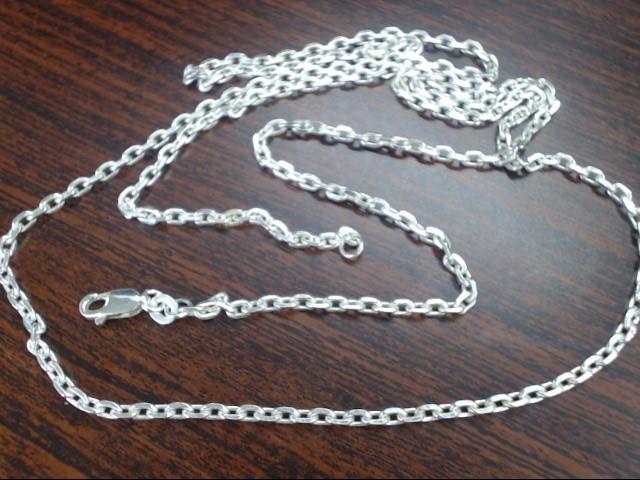 "30"" Silver Chain 925 Silver 12.3g"
