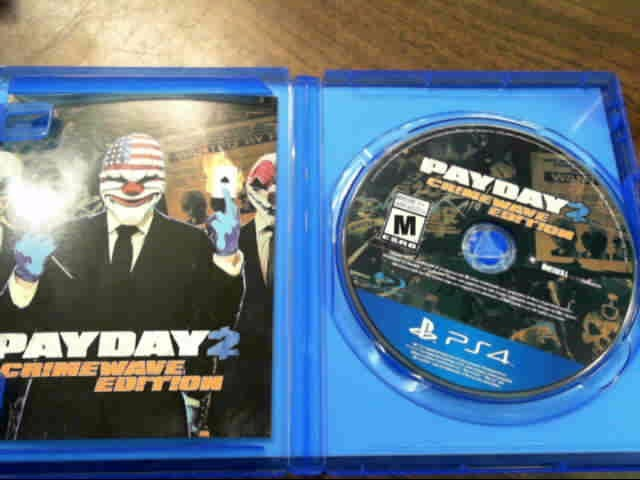 SONY Sony PlayStation 4 Game PAYDAY CRIME WAVE EDITION