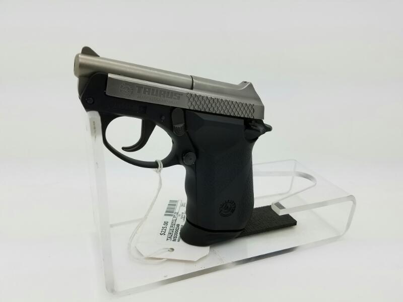 TAURUS Pistol PT-25 BLUED
