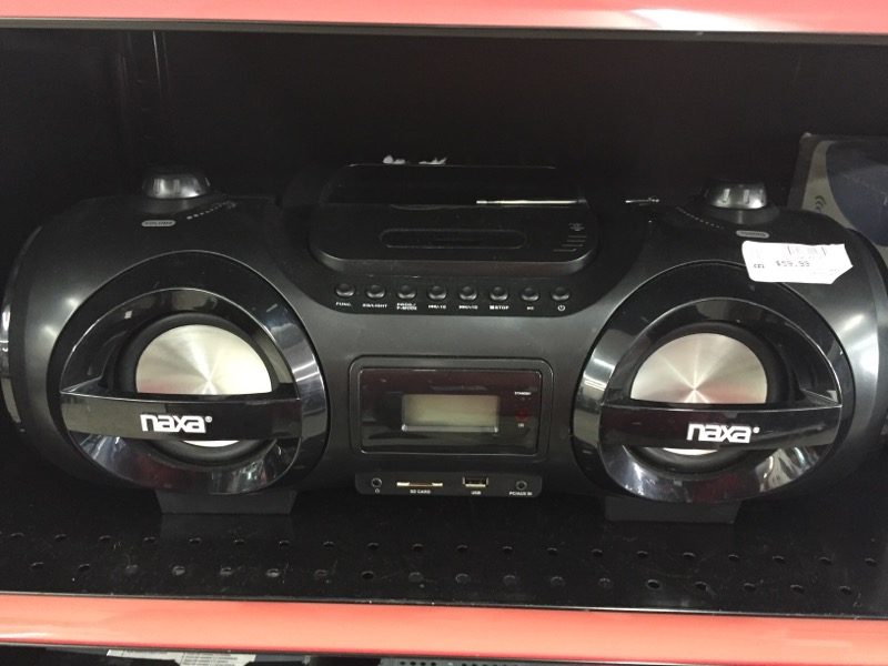 NAXA NPB258 CD PLAYER-HOME   CD PLAYER