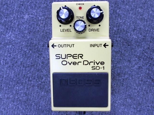 BOSS Effect Equipment SUPER OVERDRIVE SD-1