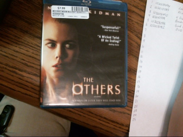 The Others Blu Ray