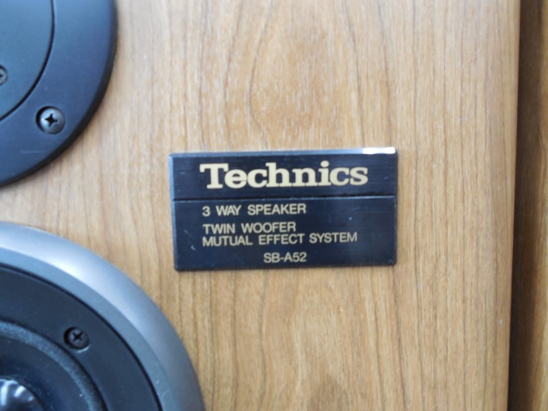 "TECHNICS SPEAKER/SUBWOOFER SB-A52 12"" TOWERS"