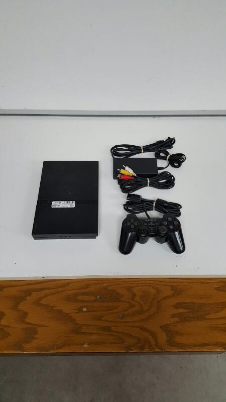 Sony PlayStation 2 Slim (SCPH-79001) PS2 Black Console