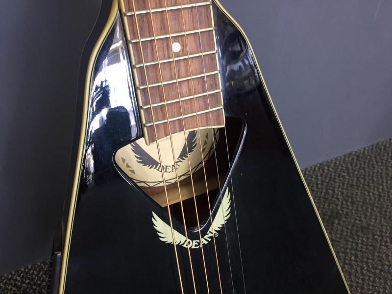 DEAN GUITARS Electric-Acoustic Guitar VCO CBK