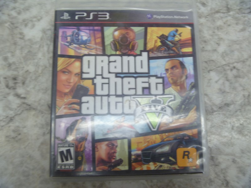 SONY PS3 GAME - GRAND THEFT AUTO V