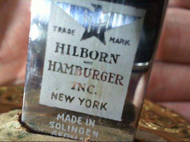 Hillborn Hamburger Inc. Solingen Germany United States Marines Saber