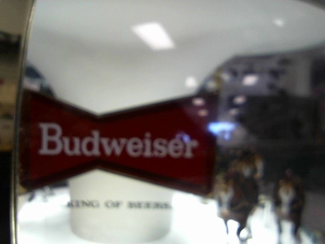 BUDWEISER Sign WORLD CHAMPION CLYDESDALE TEAM HANGING LAMP