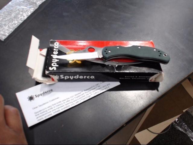 SPYDERCO Pocket Knife POCKET KNIFE