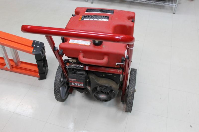 GENERAC Generator WHEELHOUSE 5550