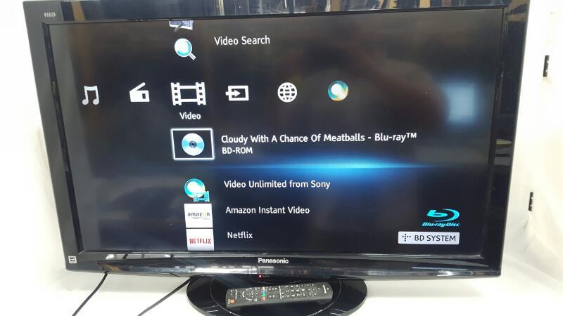 PANASONIC Flat Panel Television TC-L37X1