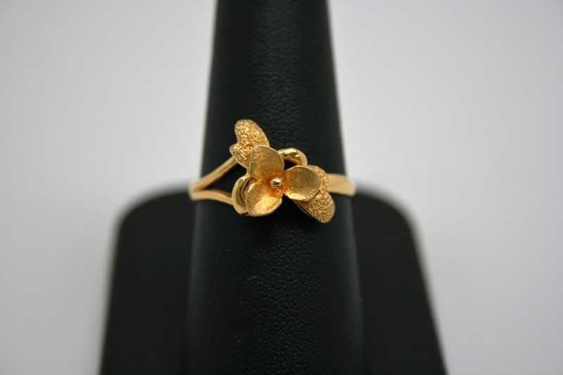 FASHION STYLE RING 22K YELLOW GOLD
