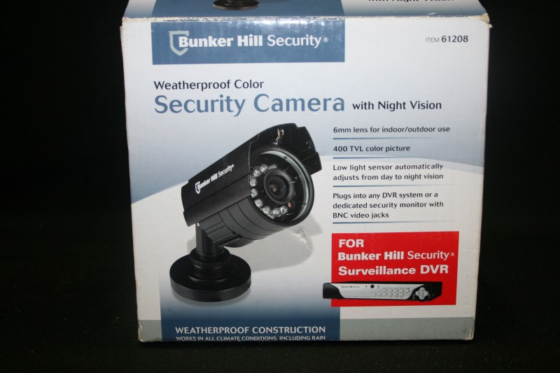 Bunker Hill Security Weatherproof Color Security Camera