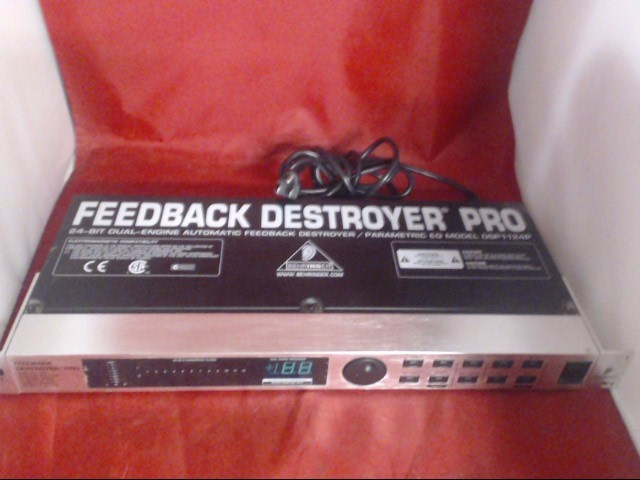 BEHRINGER Amplifier FEEDBACK DESTROYER PRO