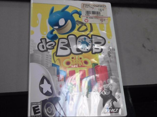 NINTENDO Nintendo Wii Game DE BLOB