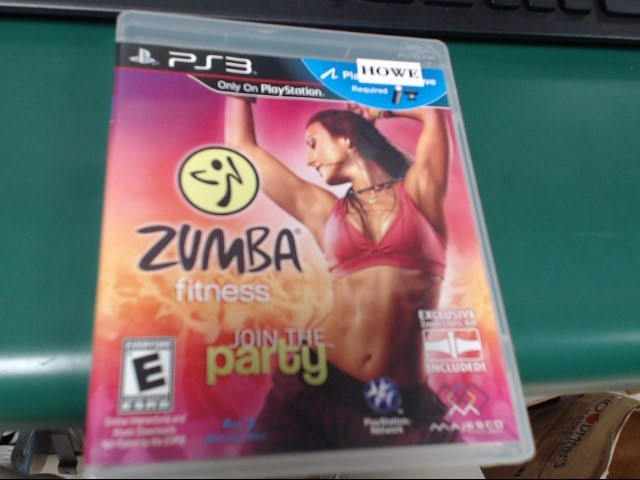 SONY PS3 ZUMBA FITNESS JOIN THE PARTY