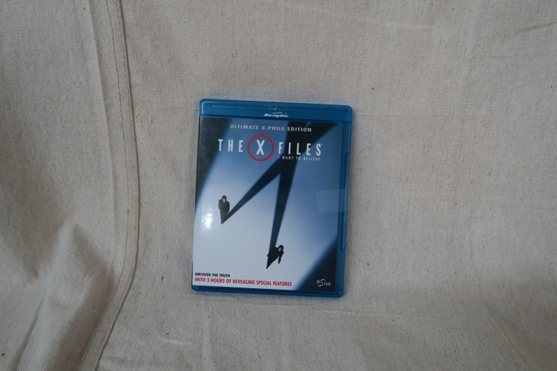 THE X FILES: I WANT TO BELIEVE BLU-RAY DISC